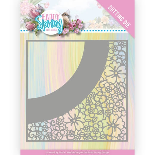 Amy Design- Die- Flower Frame: ADD10236