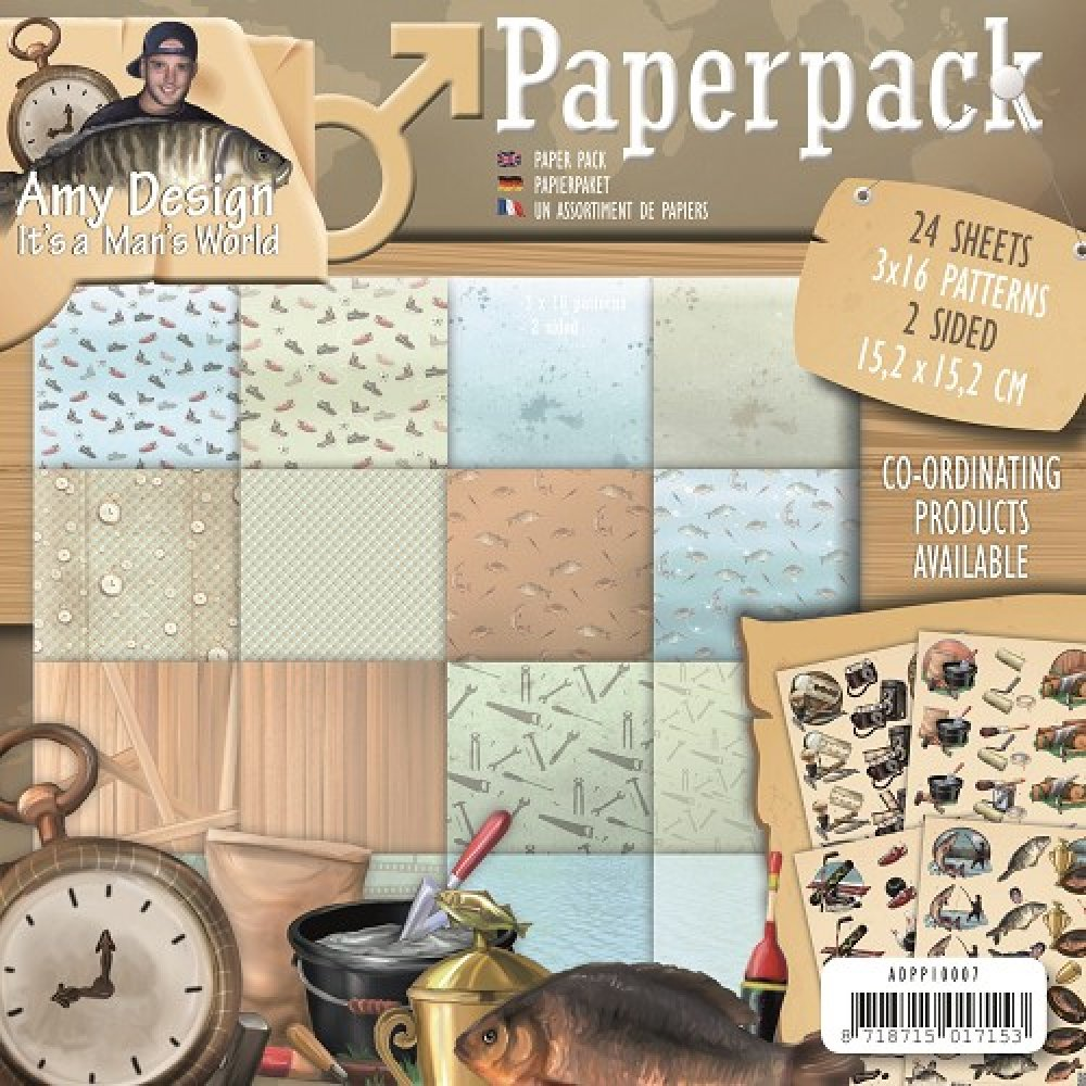 Amy Design- Paperpack- Its a Mans World: ADPP10007
