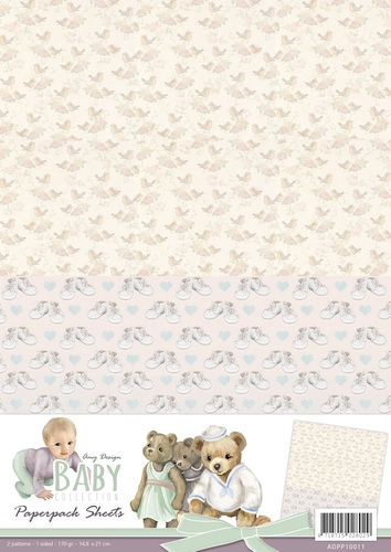 Amy Design- Achtergrondvel- Baby Collection 1: ADPP10011