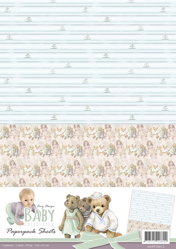 Amy Design- Achtergrondvel- Baby Collection 2: ADPP10012
