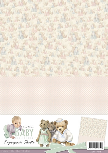Amy Design- Achtergrondvel- Baby Collection 3: ADPP10013