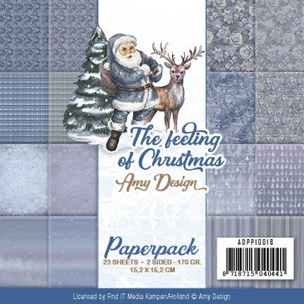 Amy Design- Paperpack- The feeling of Christmas