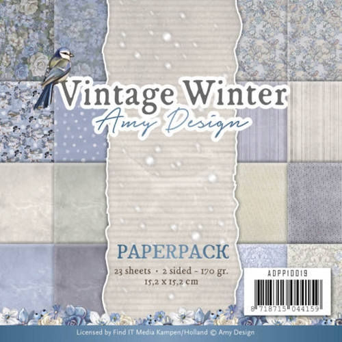 Amy Design- Paperpack- Vintage Winter: ADPP10019