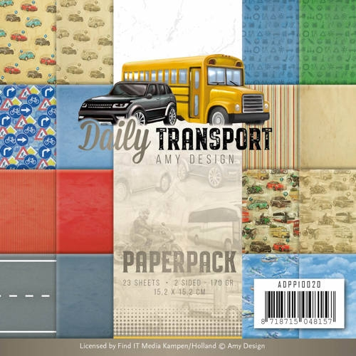 Amy Design- Paperpack- Daily Transport: ADPP10020