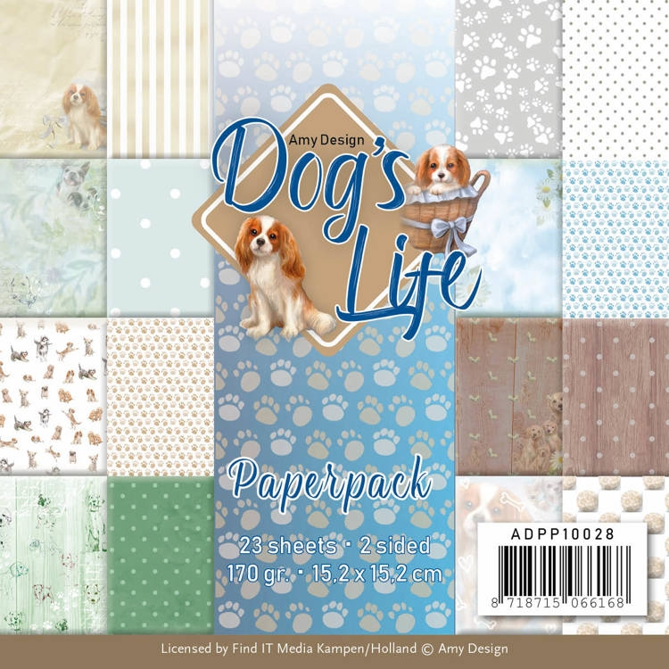 Amy Design- Paperpack- Dog's Life: ADPP10028