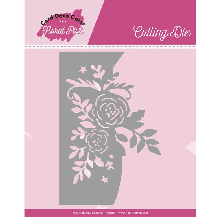 Yvonne Craetions- Dies- Floral Pink Roses: CDCCD10002