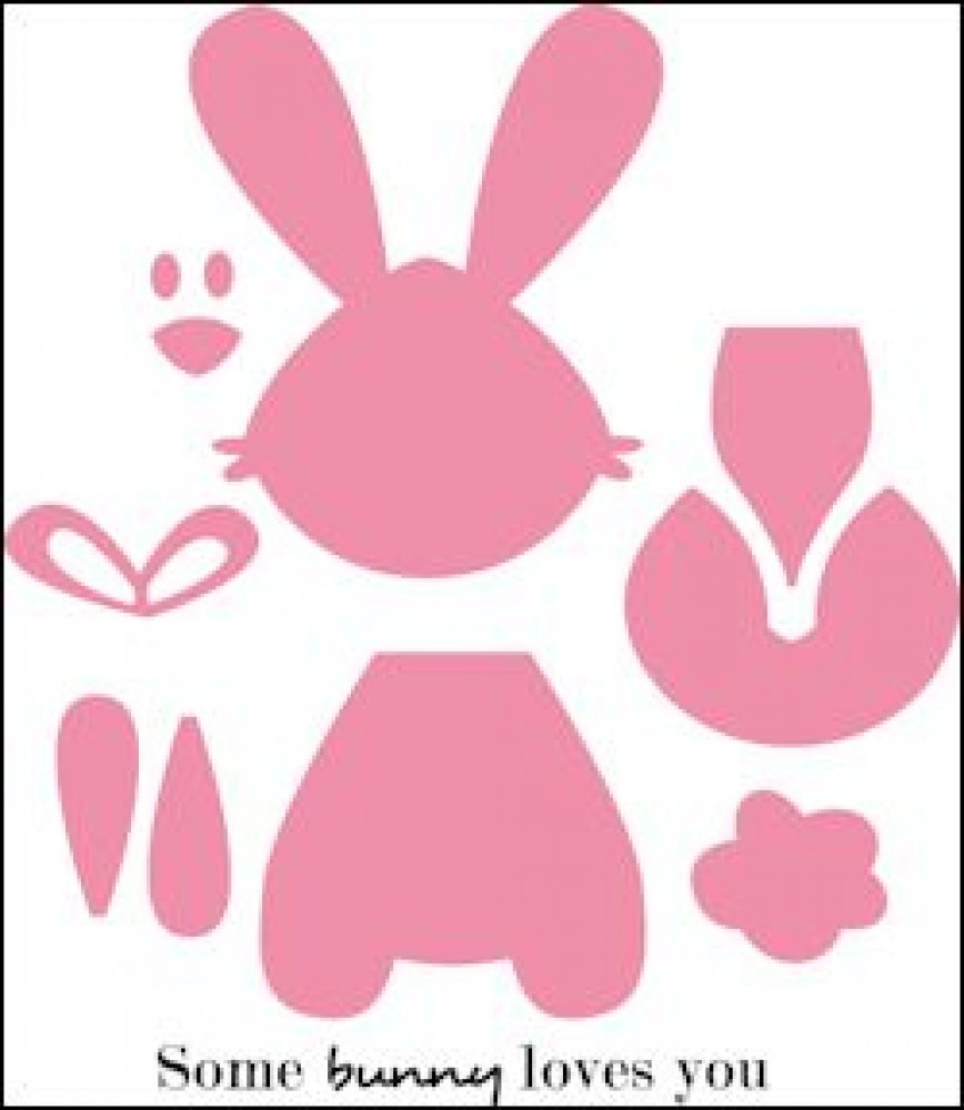 Marianne Design, Collectables set Bunny: COL1354