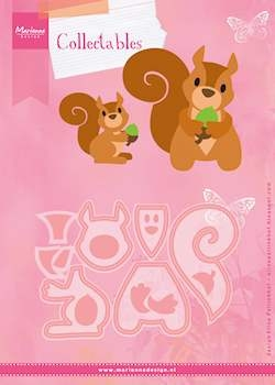 Marianne Design- Collectables- set Eline's Squirrel: COL1410