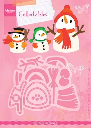 Marianne Design- Collectables- Set Eline's Snowmen: COL1413
