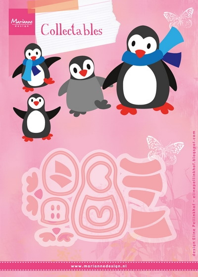 Marianne Design- Collectable- Eline's Penguin: COL1416