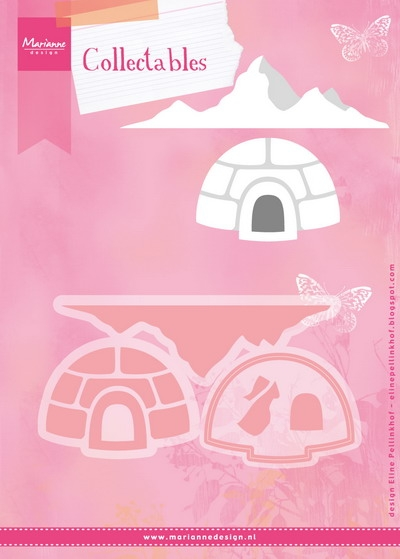 Marianne Design- Collectable- Eline's Igloo and mountain: COL1417