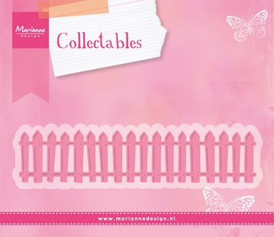 Marianne Design- Collectables- White Picked Fence: COL1423