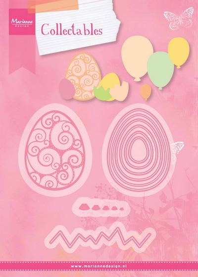 Marianne Design- Collectables- Set Easter Eggs: COL1425