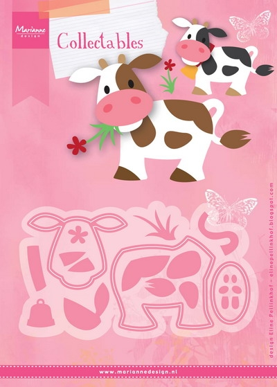 Marianne Design- Collectables- Eline's cow: COL1426