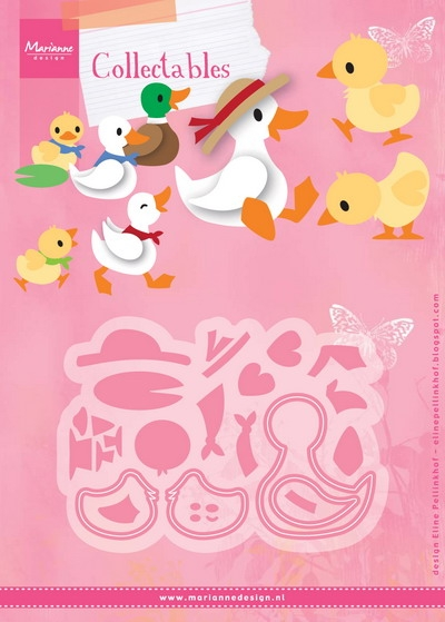 Marianne Design- Collectables- Eline's Duck family: COL1428