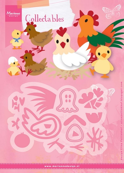 Marianne Design- Collectables- Eline's Chicken family: COL1429