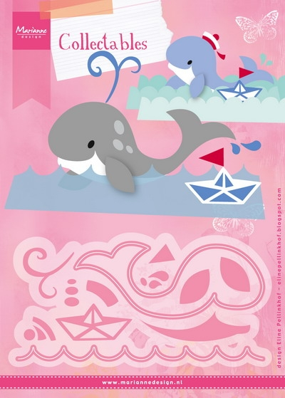 Marianne Design- Collectable- Eline's Whale: COL1430