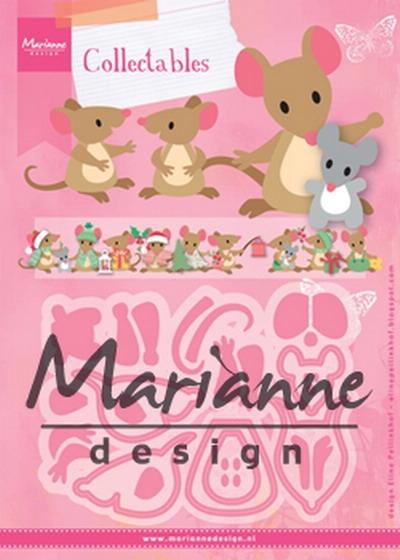 Marianne Design- Collectables- Eline's Mice Family: COL1437