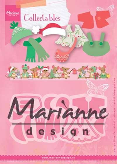 Marianne Design- Collectables- Eline's outfits: COL1438