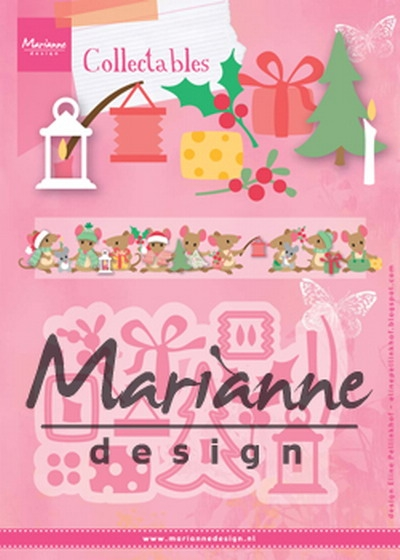 Marianne Design- Collectables- Eline's Christmas Decoration: COL1439