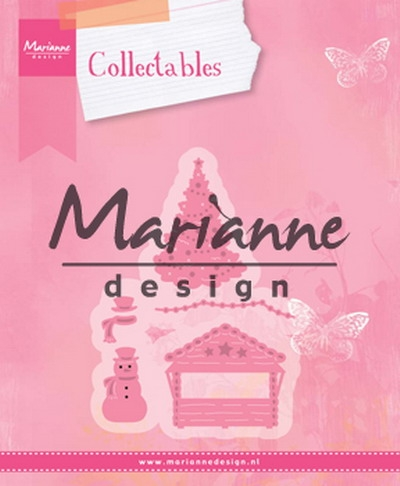Marianne Design- Collectables- Village Decorations set 5: COL1440