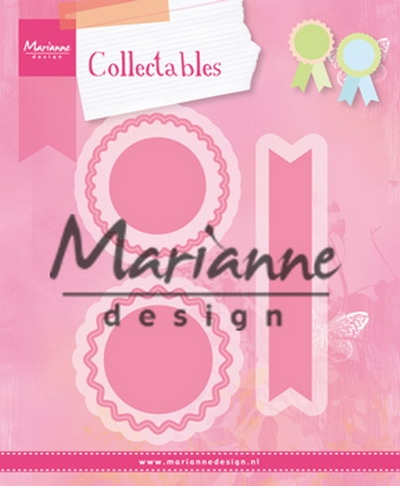 Marianne Design- Collectables- Rosettes & Labels: COL1444