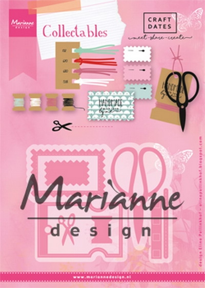 Marianne Design- Collectables- Eline's craft dates: COL1445