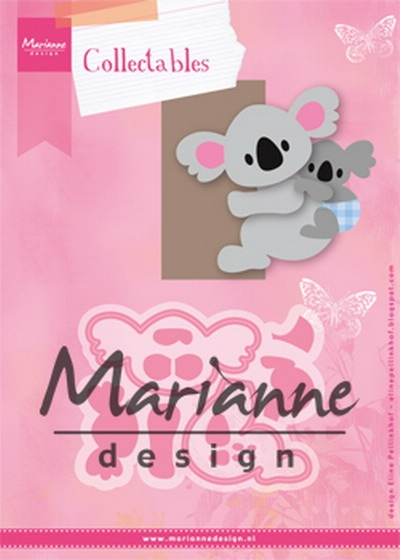 Marianne Design- Collectables- Eline's Koala & Baby: COL1448