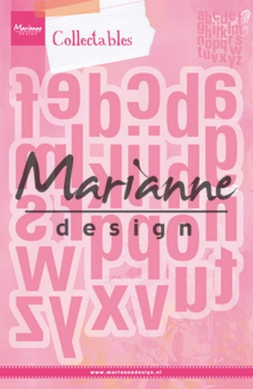 Marianne Design- Collectables- Alfabet XXL: COL1449