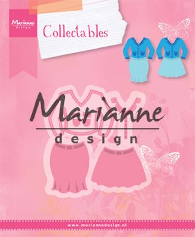 Marianne Design- Collectables- Lady's suit: COL1453