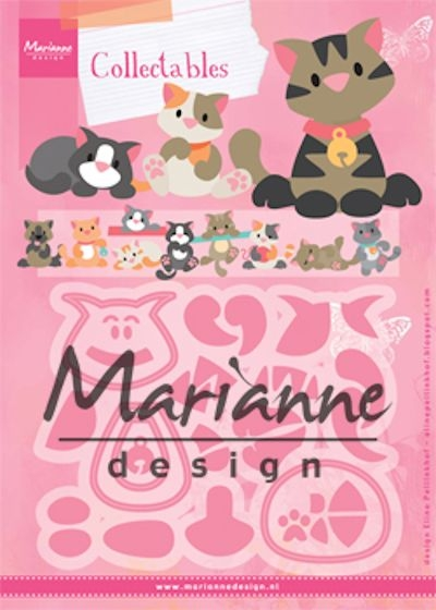 Marianne Design- Collectables- Eline's kitten: COL1454