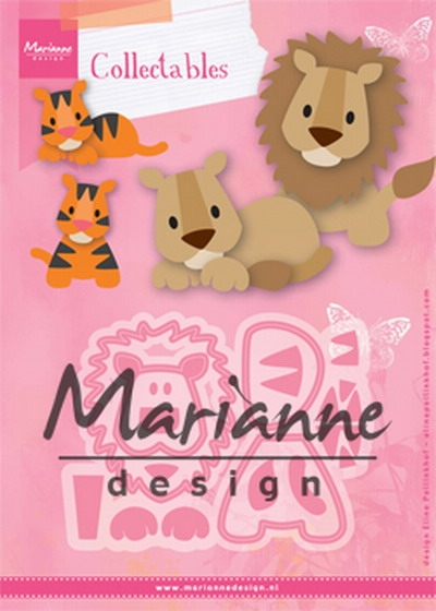 Marianne Design- Collectables- Eline's Lion / Tiger: COL1455