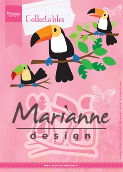 Marianne Design- Collectables- Eline's Toucan: COL1457