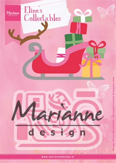 Marianne Design- Collectables- Eline's Sleigh: COL1460