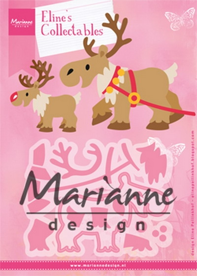 Marianne Design- Collectables- Eline's Reindeer: COL1461