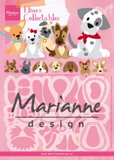 Marianne Design- Collectables- Eline's Puppy: COL1464