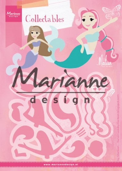 Marianne Design- Collectables- Mermaids by Marleen: COL1467