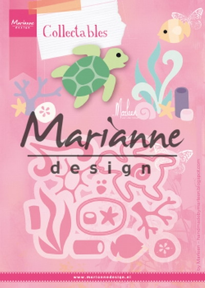 Marianne Design- Collectables- Sealife by Marleen: COL1468