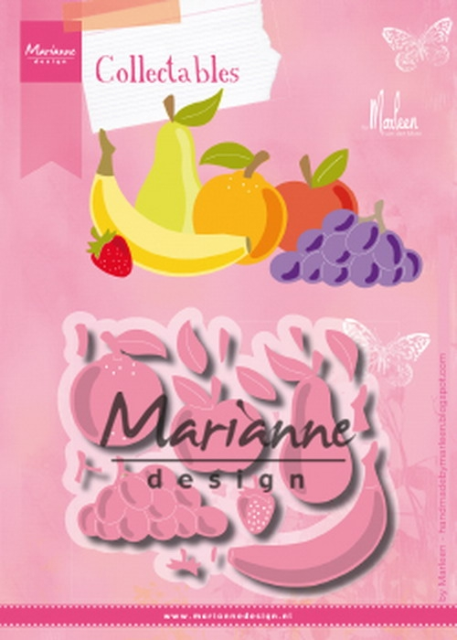 Marianne Design- Collectables- Fruit by Marleen: COL1469