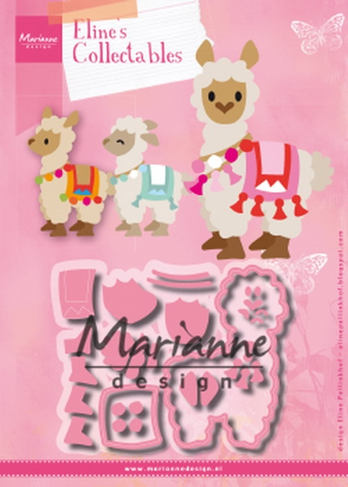 Marianne Design- Collectables- Eline's Alpaca: COL1470