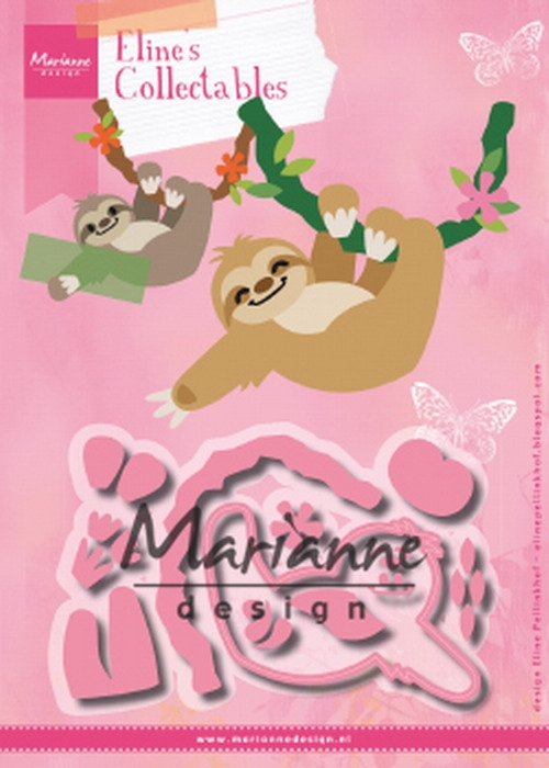 Marianne Design- Collectables- Eline's Sloth: COL1471
