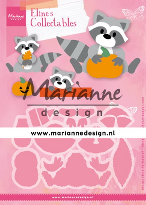 Marianne Design- Collectables- Eline's Raccoon: COL1472