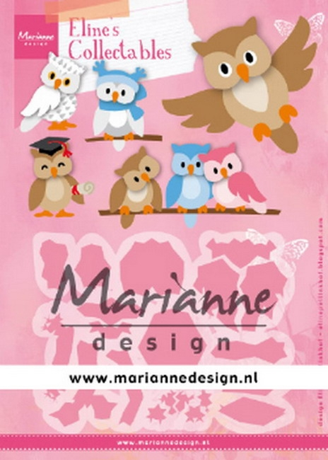 Marianne Design- Collectables- Eline's Owl: COL1475