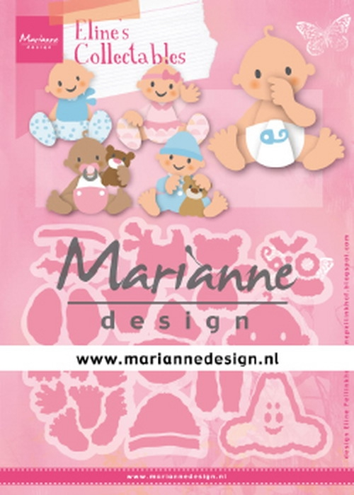 Marianne Design- Collectables- Eline's Babies: COL1479