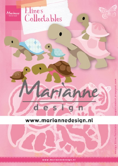 Marianne Design- Collectables- Eline's Turtles: COL1480