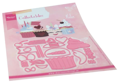 Marianne Design- Collectables- Cupcakes by Marleen: COL1481