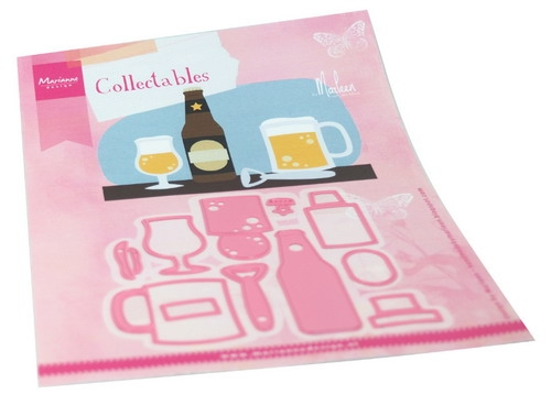 Marianne Design- Coleectables- Beer by Marleen: COL1482
