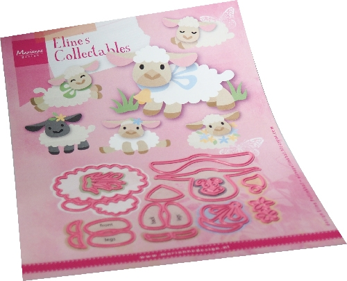 Marianne Design- Collectables- Eline's Lamb: COL1494