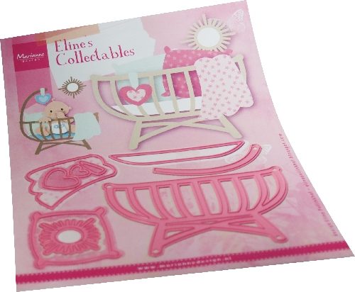 Marianne Design- Collectables- Eline's Baby cot: COL1495