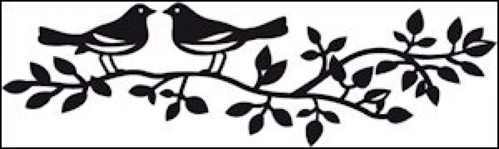 Marianne Design Craftables Birds Silhouette: CR1264